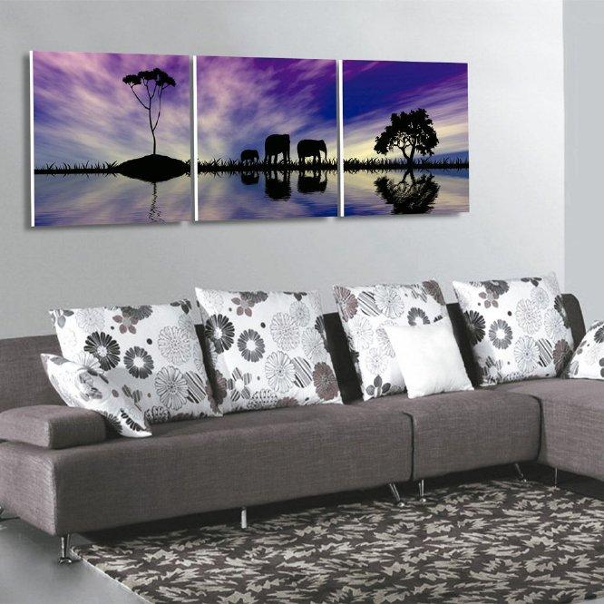 1 2 o 3 cuadros de lienzo canvas con bastidor de madera - Cuadros en bastidor ...